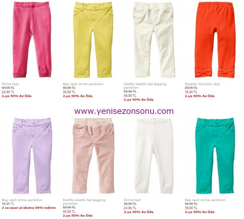 gap baby 2013 kız yeni sezon pantolon
