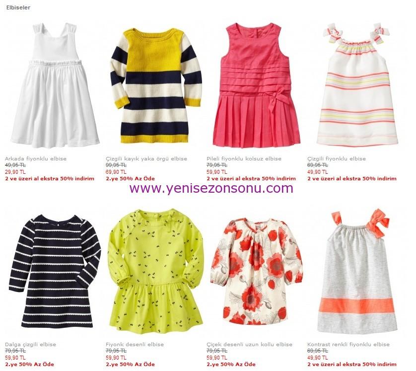 gap baby indirimli elbiseler 2013