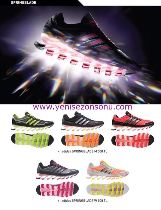 2014 Adidas springblade ayakkabılar ve fiyatları