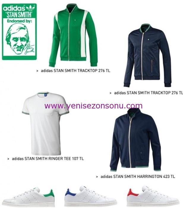 2014 adidas stan smith koleksiyonu giyim kıyafet modelleri ve fiyatları