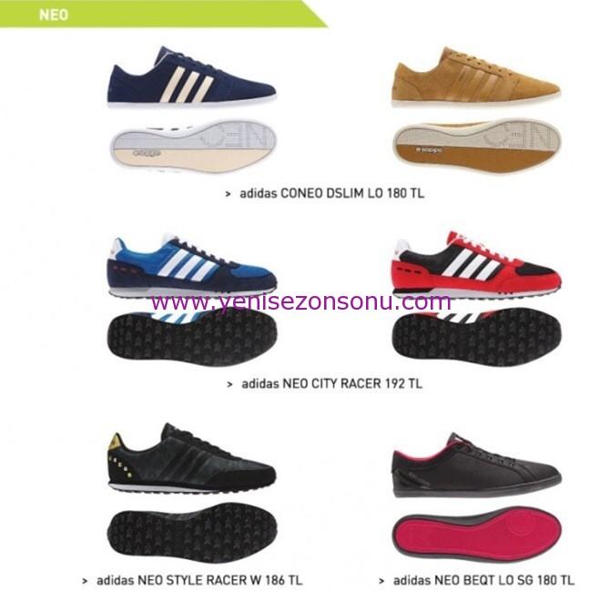 adidas neo 2014 ayakkabı modelleri ve fiyatları