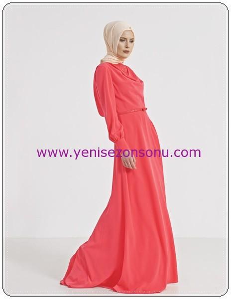 yeni sezon tesettür elbise modelleri b4_23041_elbse_yavruagzi_12643