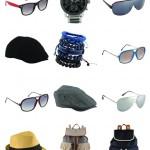2014 yaz erkek aksesuar gözlük çanta saat modası