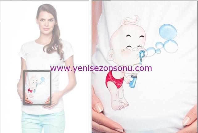esprili hamile tişörtleri t-shirt modelleri fiyatı