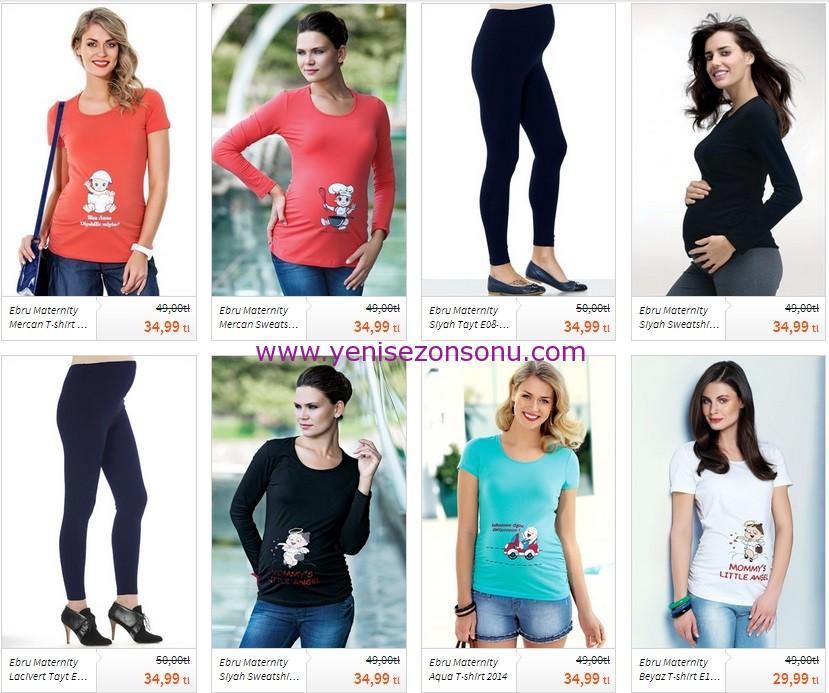 esprili hamile tişörtleri taytları fiyatı