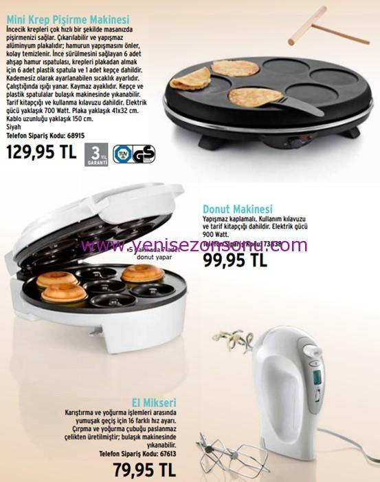 tchibo krep donut makinesi mikser fiyatı fiyatları