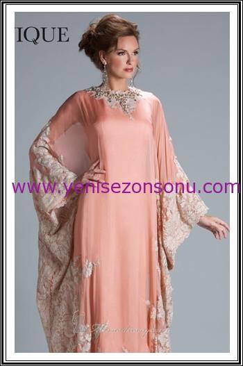 yeni sezon bol dökümlü davet elbiseleri en güzel yarasa kollu gece elbisesi modelleri