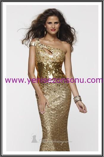 yeni sezon gece elbiseleri güzel davet elbisesi modelleri
