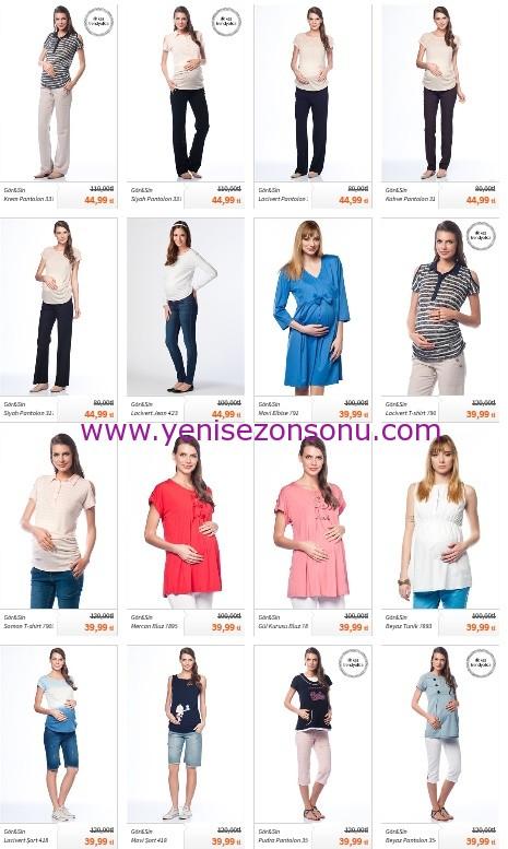 yeni sezon hamile kıyafeti fiyatları