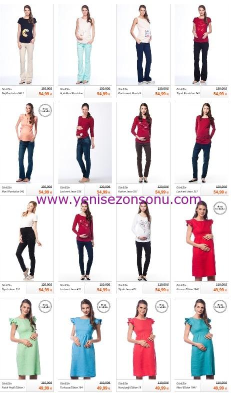 yeni sezon hamile kıyafetleri 2014
