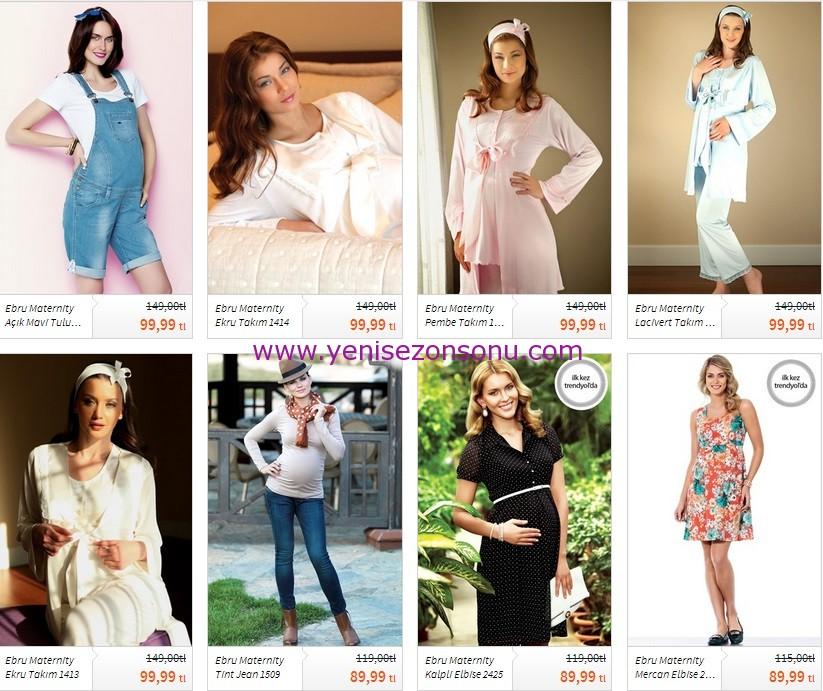 yeni sezon hamile kıyafetleri salopet modelleri