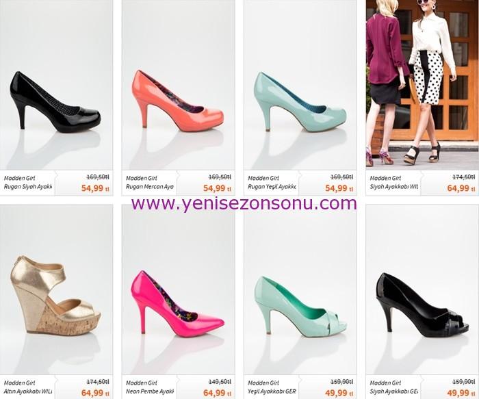yeni sezon madden girl mezuniyet ayakkabısı modelleri