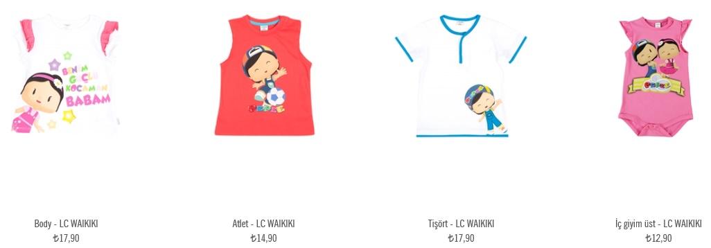pepee desenli çocuk kıyafetleri