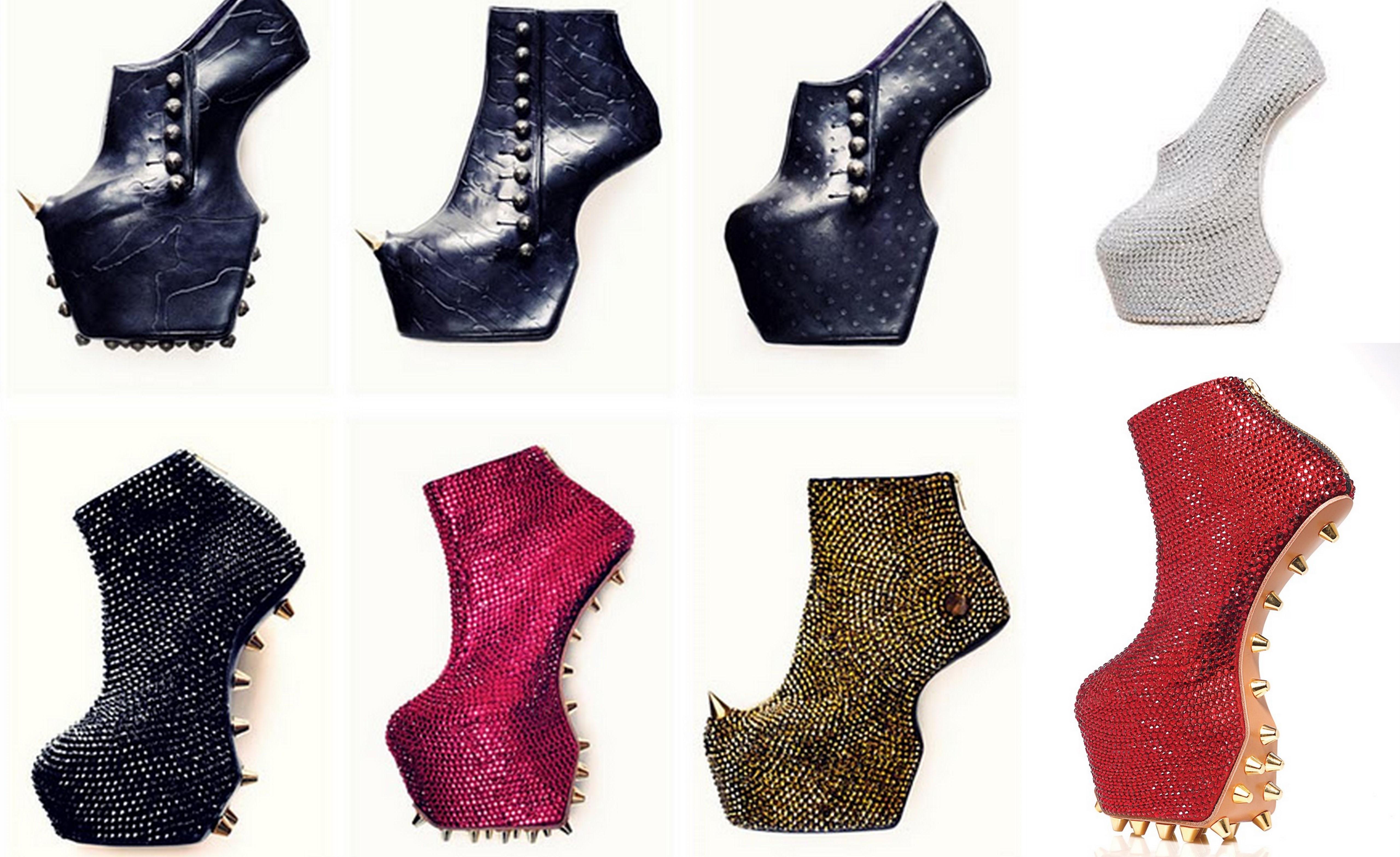 victoria beckham stili dolgu topuklu ayakkabılar