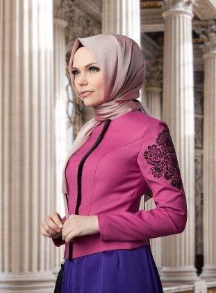 yeni sezon tesettür giyim ceket muslima wear
