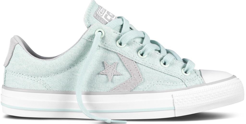 Su yeşili converse cons spor ayakkabı
