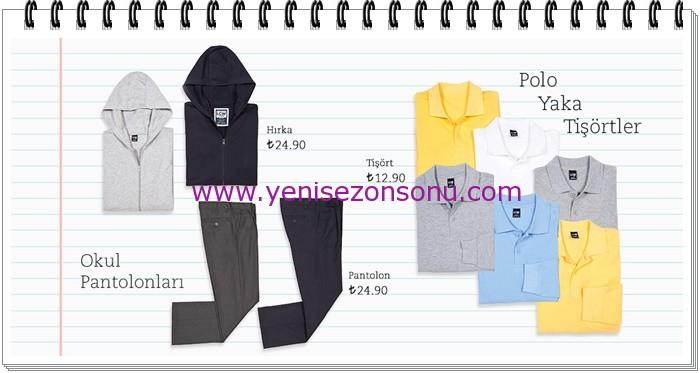 LCW genç erkek çocuk okul lakost tişört modelleri