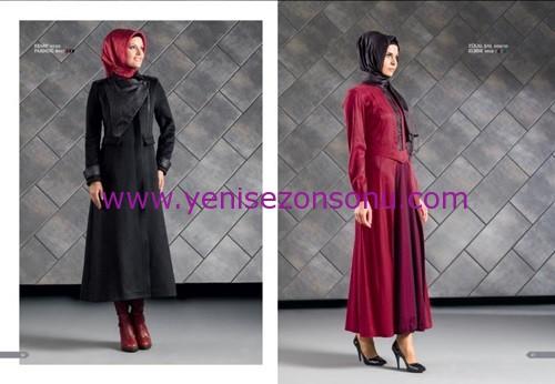 armine yeni sezon elbise pardesü eşarp modelleri 028 2015
