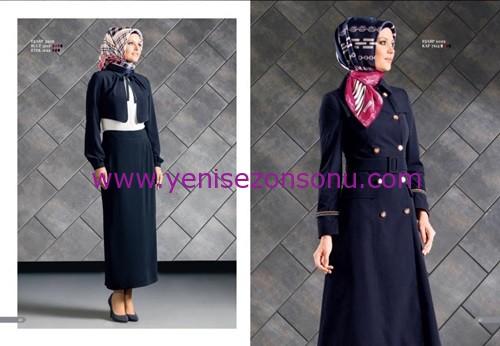 armine yeni sezon elbise pardesü eşarp modelleri 031 2015