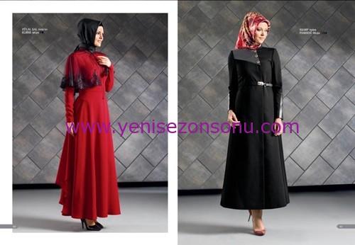 armine yeni sezon elbise pardesü eşarp modelleri 033 2015