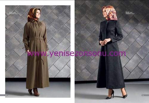 armine yeni sezon elbise pardesü eşarp modelleri 042 2015