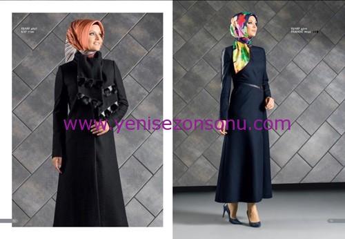 armine yeni sezon elbise pardesü eşarp modelleri 048 2015