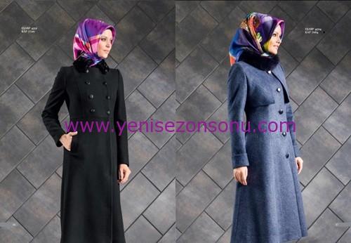 armine yeni sezon elbise pardesü eşarp modelleri 056 2015