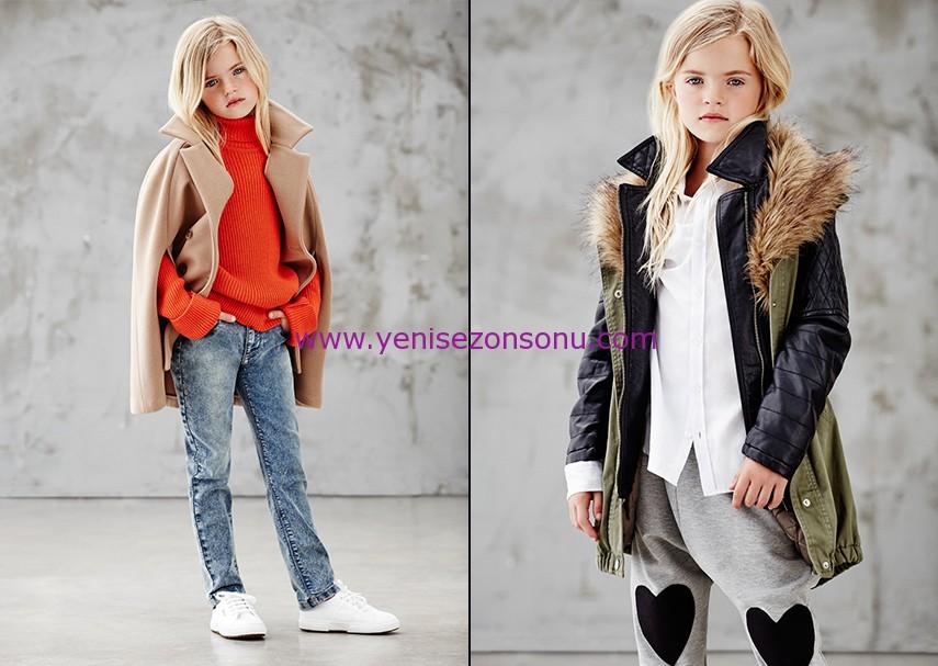 koton 2014 2015 sonbahar kışlık kız giyim modelleri