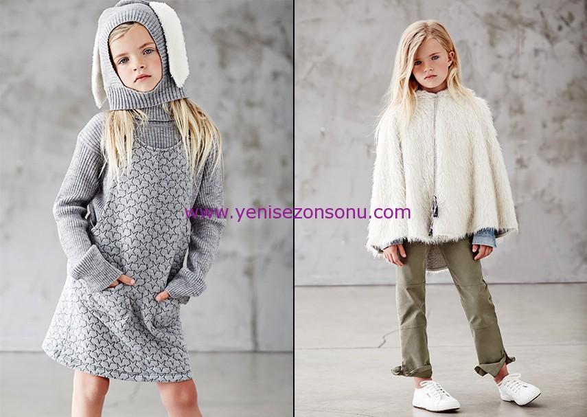 koton kids 2014 2015 sonbahar kış kız giyimi modelleri