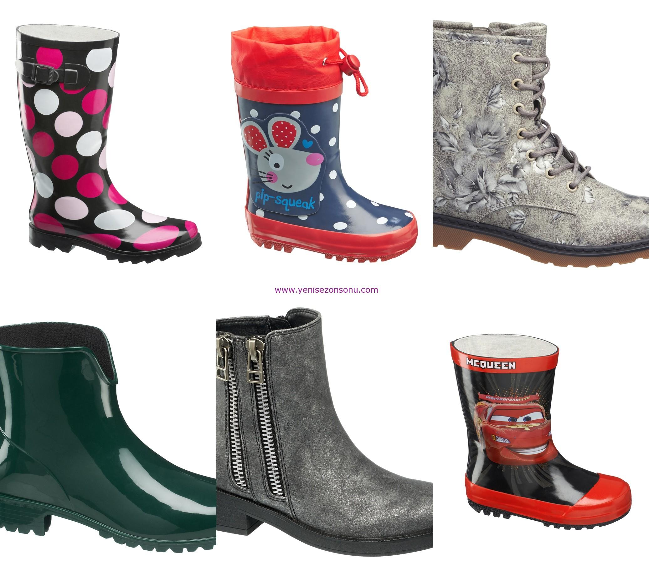 yeni sezon çocuk yağmur botları botu modelleri