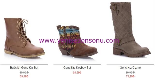 yeni sezon bot çizme modelleri ve fiyatları