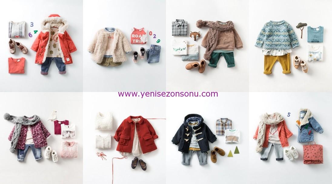 zara baby 2014 2015 kışlık bebek giyim kombinleri