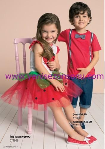 23 nisan kız çocuk kıyafetleri takımları
