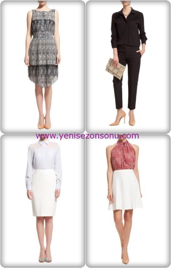 yeni sezon elbiseler 2015 Batik Elbise Modelleri