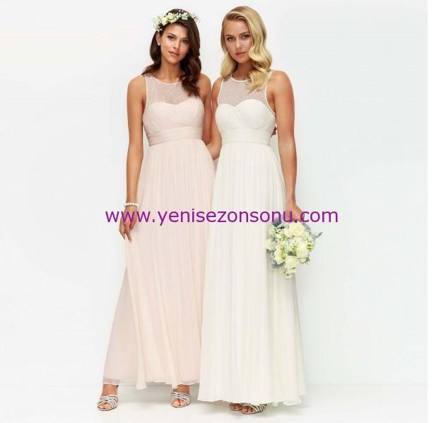 en romantik düğün davet elbisesi modelleri 2016
