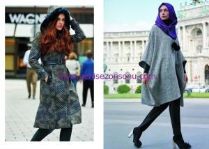 yeni sezon tesettür koleksiyonları KAYRA 2016 kışlık kapalı giyim modelleri