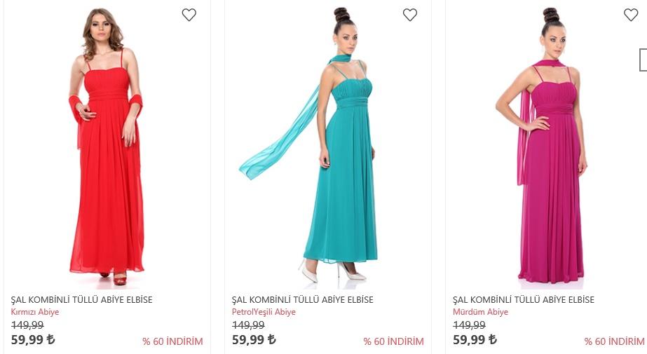 yeni sezon tozlu giyim abiye elbise modelleri