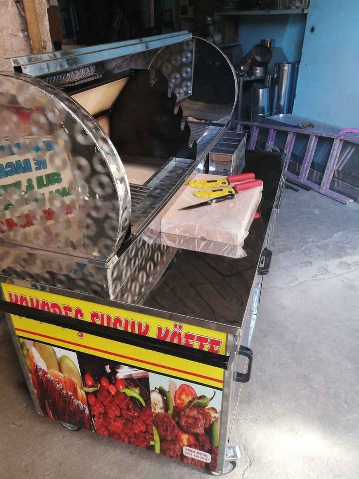 ikinci el tekerlekli kokoreç tezgahı